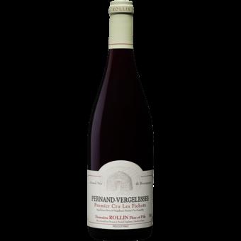 Bottle shot for 2018 Domaine Rollin Pernand Vergelesses Rouge 1er Cru 'les Fichots'