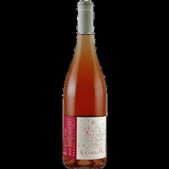 "Bottle shot for 2018 Catherine & Pierre Breton Bourgueil Rose ""La Ritournelle"""