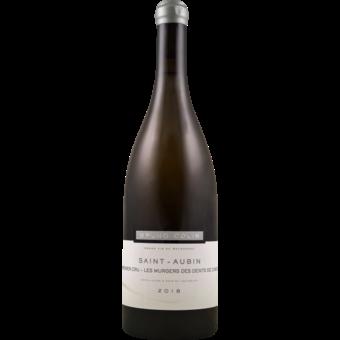 """Bottle shot for 2018 Bruno Colin St Aubin 1er Cru """"Murgers Des Dents De Chien"""""""