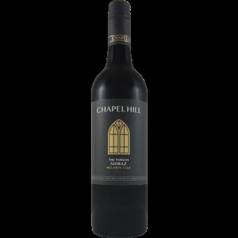 Bottle shot for 2018 Chapel Hill Parson's Shiraz