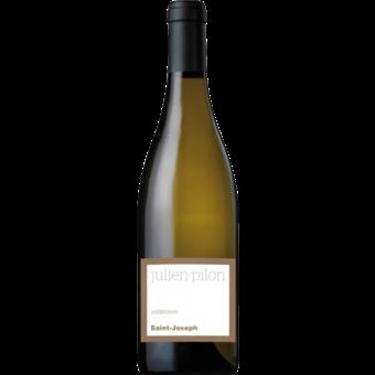 Bottle shot for 2019 Julien Pilon St. Joseph Blanc Dimanche A Lima