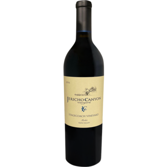 Bottle shot for 2016 Jericho Canyon Stagecoach Merlot