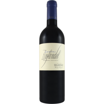 Bottle shot for 2019 Seghesio Sonoma Zinfandel
