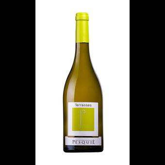 Bottle shot for 2019 Chateau Pesquie Terrasses Blanc