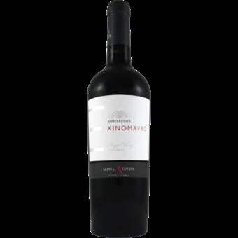 Bottle shot for 2018 Alpha Estate Hedgehog Xinomavro