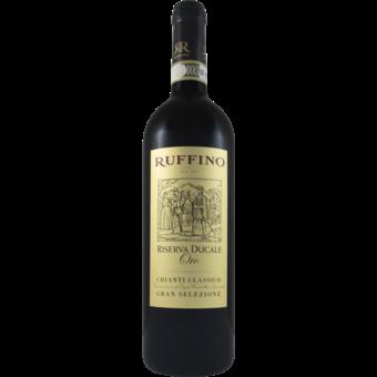 Bottle shot for 2016 Ruffino Chianti Classico Riserva Ducale Oro Gran Selezione