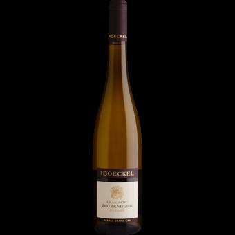 Bottle shot for 2018 Boeckel Sylvaner Alsace Grand Cru Zotzenberg
