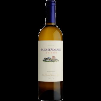 Bottle shot for 2020 Pazo De Senorans Albarino Rias Baixas