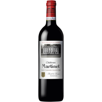 Bottle shot for 2018 Chateau Martinet