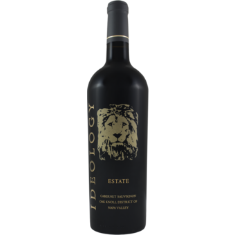 Bottle shot for 2016 Ideology Oak Knoll Estate Cabernet Sauvignon