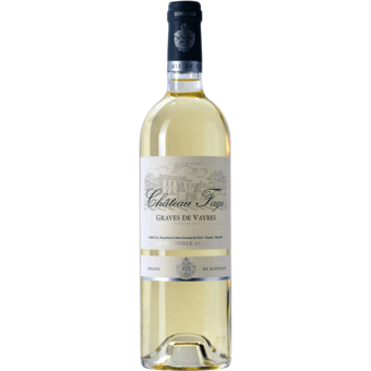Bottle shot for 2020 Chateau Fage Blanc