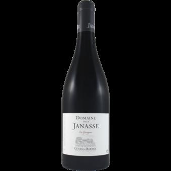 Bottle shot for 2019 Janasse Cotes Du Rhone Les Garrigues