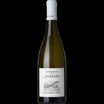 """Bottle shot for 2019 Janasse Chateauneuf Du Pape Blanc """"Cuvee Prestige"""""""