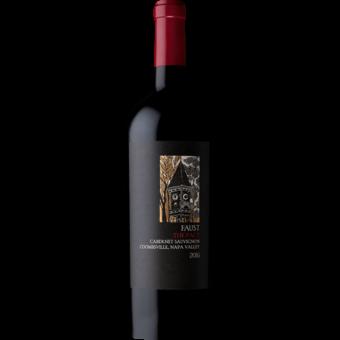 Bottle shot for 2016 Faust The Pact Cabernet Sauvignon