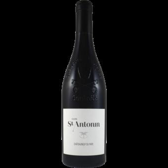Bottle shot for 2019 Clos Saint Antonin Chateauneuf Du Pape Rouge