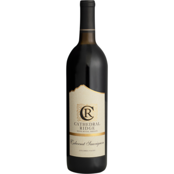 Bottle shot for 2016 Cathedral Ridge Cabernet Sauvignon