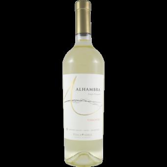 Bottle shot for 2020 Alhambra Cafayate Torrontes