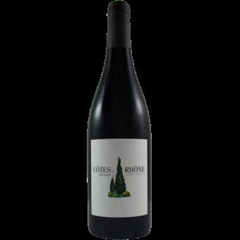 Bottle shot for 2019 Kermit Lynch Cotes Du Rhone Cypress