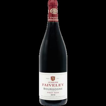 Bottle shot for 2019 Faiveley Bourgogne Rouge Pinot Noir