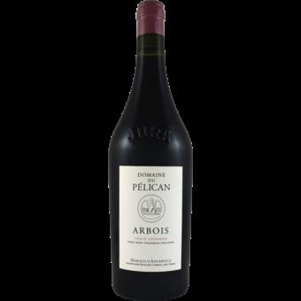 Bottle shot for 2019 Domaine Du Pelican Trois Cepages Rouge