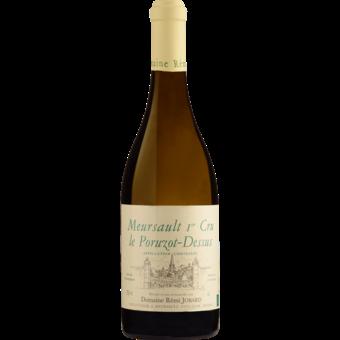 Bottle shot for 2019 Domaine Remi Jobard Meursault Porouzots Dessus 1er Cru