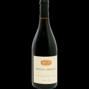 Bottle shot for 2019 Royal Prince Pinot Noir Santa Barbara