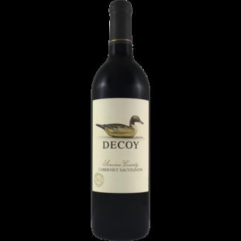 Bottle shot for 2019 Duckhorn Decoy Cabernet