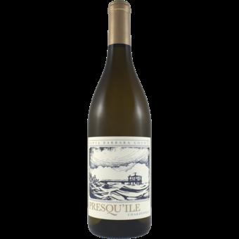 Bottle shot for 2019 Presqu'ile Chardonnay Santa Barbara County