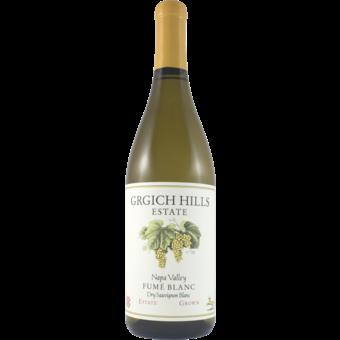 Bottle shot for 2018 Grgich Hills Fume Blanc