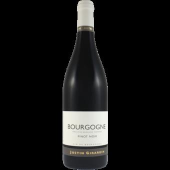 Bottle shot for 2019 Justin Girardin Bourgogne Rouge