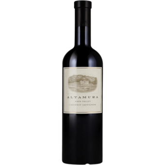 Bottle shot for 2017 Altamura Cabernet Sauvignon