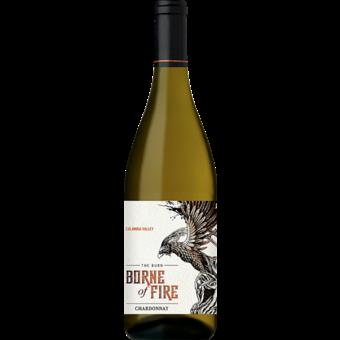 Bottle shot for 2018 Borne Of Fire Chardonnay The Burn