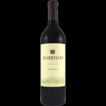 Bottle shot for 2018 Markham Vineyards Merlot