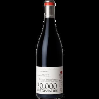 Bottle shot for 2017 Bodegas Maranones Treinta Mil Maravedies