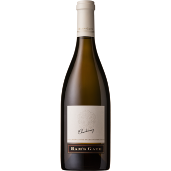 Bottle shot for 2017 Rams Gate Diablo Russian River Chardonnay