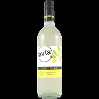 Bottle shot for 2019 Avia Pinot Grigio