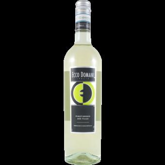 Bottle shot for 2020 Ecco Domani Pinot Grigio