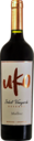 Bottle shot for 2018 Uko Malbec Select Vineyard Reserva