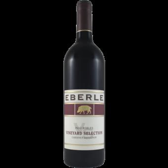Bottle shot for 2018 Eberle Cabernet Sauvignon Vineyard Select
