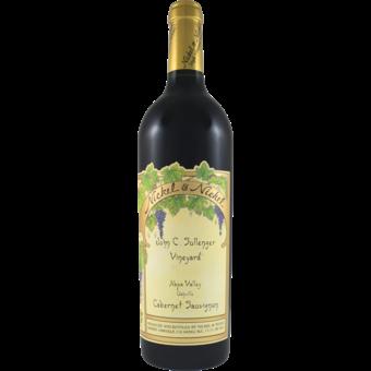 Bottle shot for 2018 Nickel & Nickel Sullenger Vineyard Cabernet Sauvignon