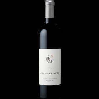 Bottle shot for 2016 Coursey Graves Napa Cabernet Sauvignon