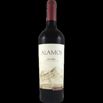Bottle shot for 2020 Alamos Malbec