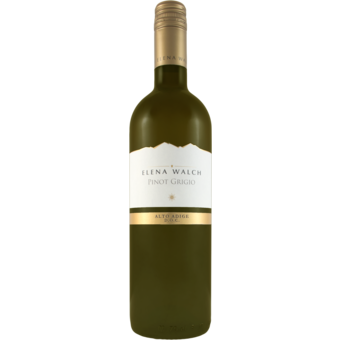 Bottle shot for 2020 Elena Walch Pinot Grigio