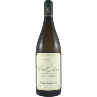 Bottle shot for 2019 Pascal Bonhomme Vire Clesse