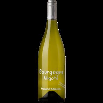 Bottle shot for 2019 Domaine Francois Mikulski Bourgogne Aligote