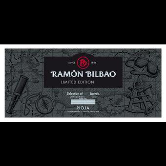 Label shot for 2015 Ramon Bilbao Rioja Limited Edition