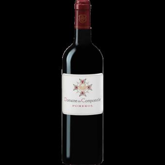 Bottle shot for 2014 Domaine De Compostelle Pomerol