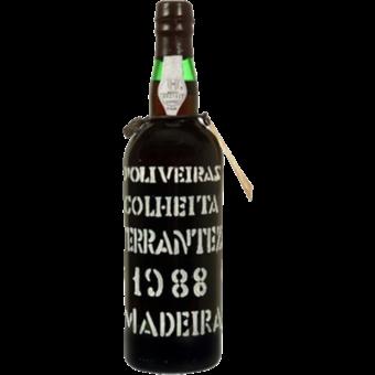Bottle shot for 1988 D'oliveiras Madeira Terrantez