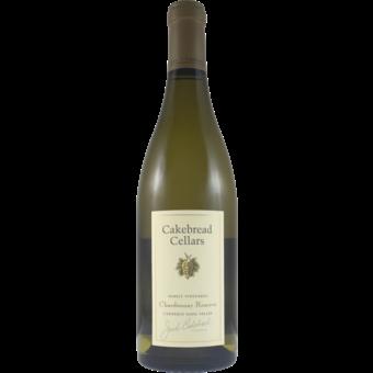 Bottle shot for 2019 Cakebread Chardonnay Reserve