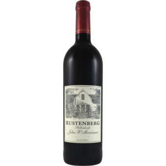 Bottle shot for 2019 Rustenberg John X Merriman Red